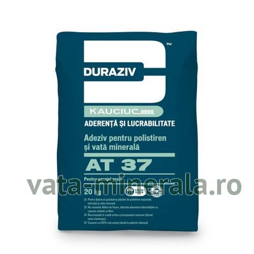Adeziv polistiren si vata minerala DURAZIV AT37 25kg