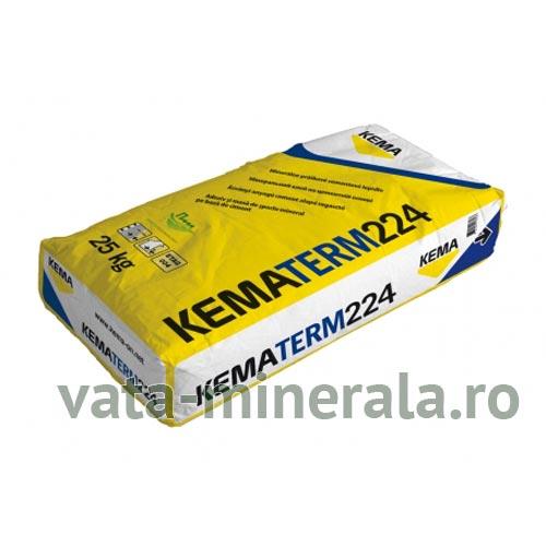 Adeziv polistiren si vata minerala KEMATERM 224 25kg