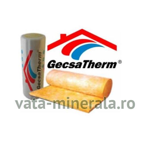 Vata minerala de sticla GECSATHERM VSG1 DUO 9/18