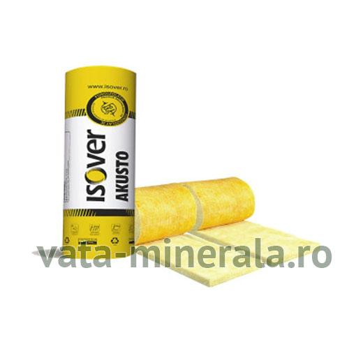 Vata minerala de sticla ISOVER AKUSTO 7.5 TWIN