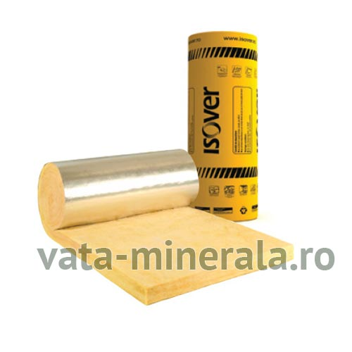 Vata minerala de sticla ISOVER RIO ALUMINIU 10