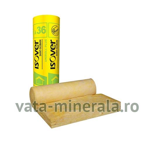 Vata minerala de sticla ISOVER UNIROLL PLUS 5/10